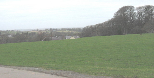 Fields at Plas Dinas Home Farm