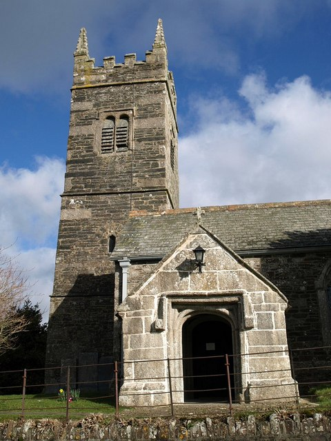 St Petrock's church, Egloskerry