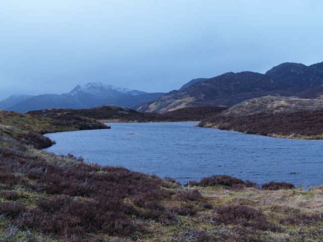 Unnamed lochan near Pitcastle Lochs