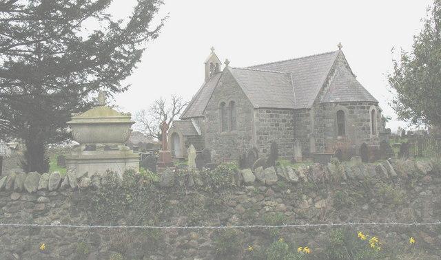 St Gwyndaf's churchyard
