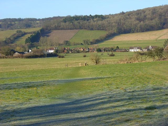 The Hambleden Valley, Skirmett