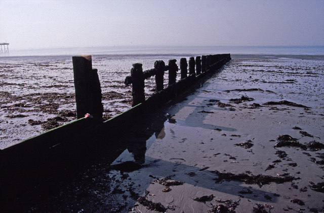 Groyne on Bognor Beach, West Sussex