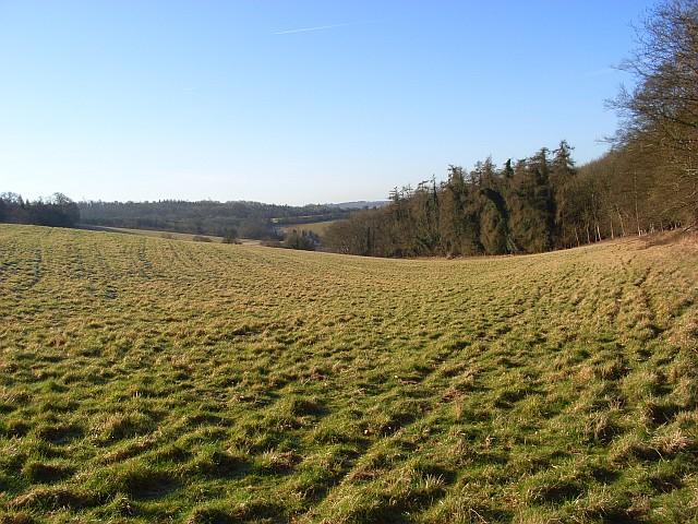 The Hambleden Valley near Frieth