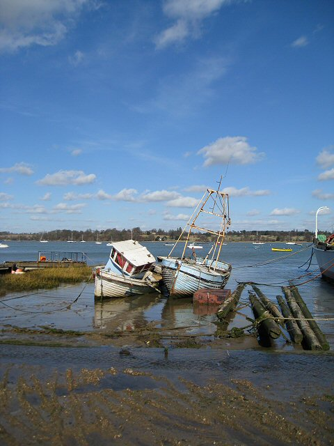 The banks of the River Orwell