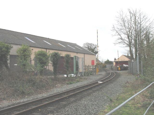 Welsh Highland Railway Engineering Workshops, Dinas