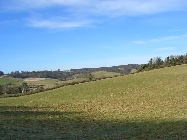 The Hambleden Valley above Colstrope