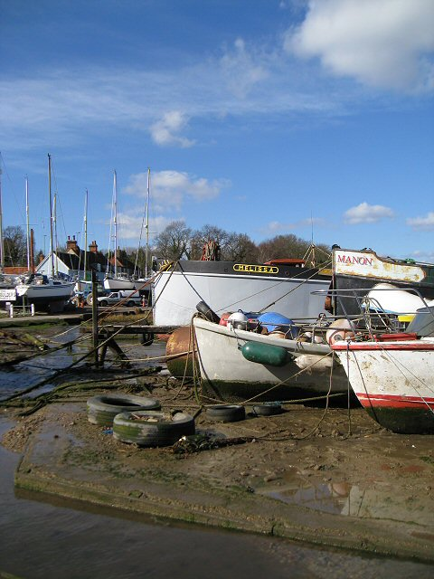 The Grindle at Pin Mill
