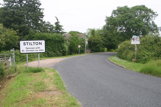 Entering Stilton