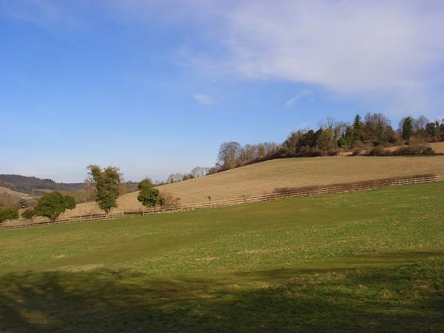 The Hambleden Valley at Colstrope