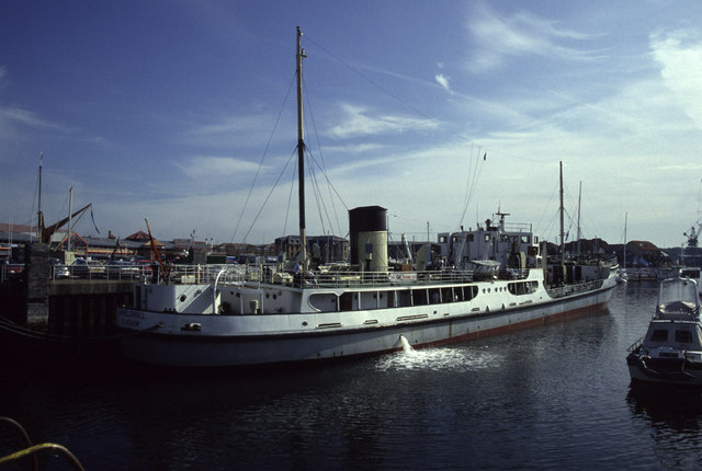 S S Shieldhall at Ocean Village
