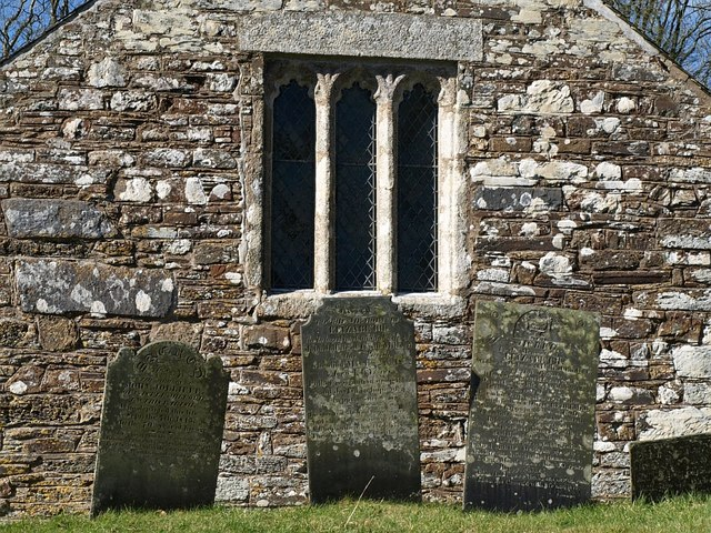 Gravestones, Church of St Winwallo, Tremaine