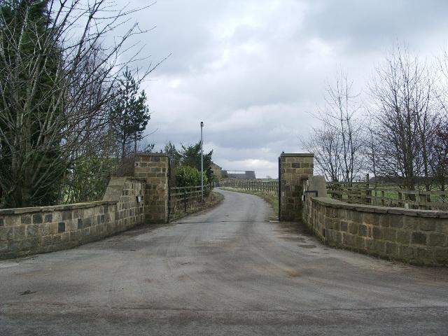 Entrance to Bank Top Farm, Arthington