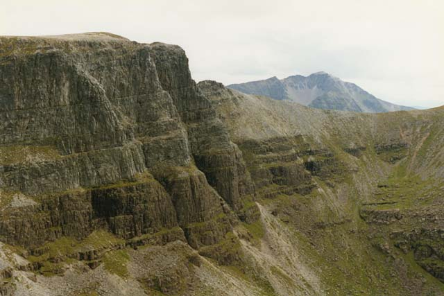 The Triple Buttress, from Ruadh-stac Mor