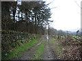SE2643 : Bridleway  to Creskeld Hall by Alexander P Kapp