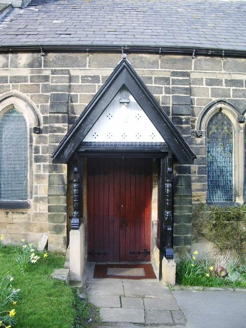 Parish Church of St Wilfrid, Pool-in-Wharfedale, Porch