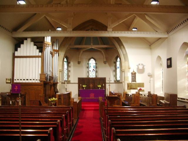 Parish Church of St Wilfrid, Pool-in-Wharfedale, Interior