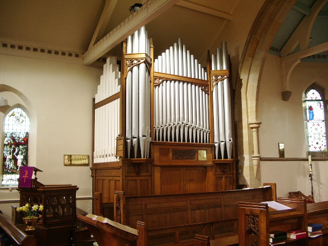 Parish Church of St Wilfrid, Pool-in-Wharfedale, Organ