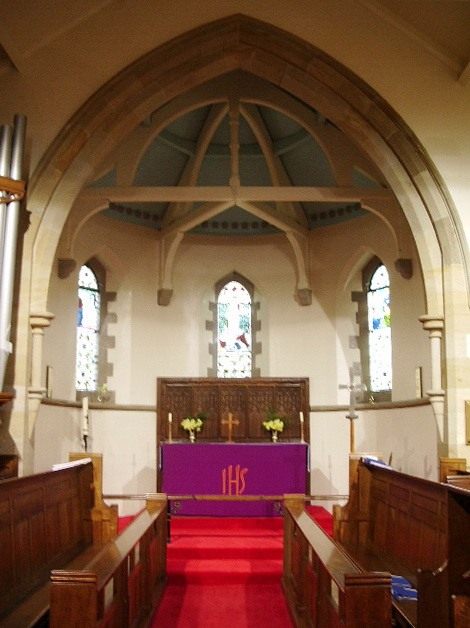 Parish Church of St Wilfrid, Pool-in-Wharfedale, Interior