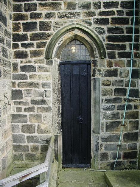 Parish Church of St Wilfrid, Pool-in-Wharfedale, Doorway