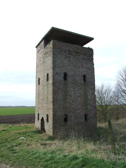 Wartime lookout tower