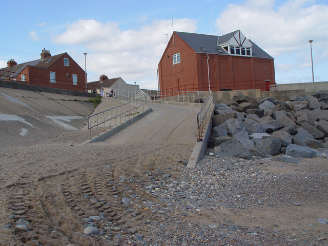 The lifeboat station, Withernsea, East Yorkshire