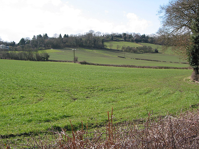 Lower slopes of Common Hill