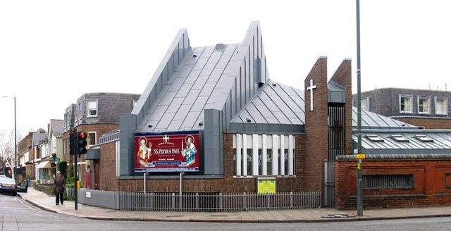 St Peter & St Paul, Church Road, Teddington, Mx TW11 8PS
