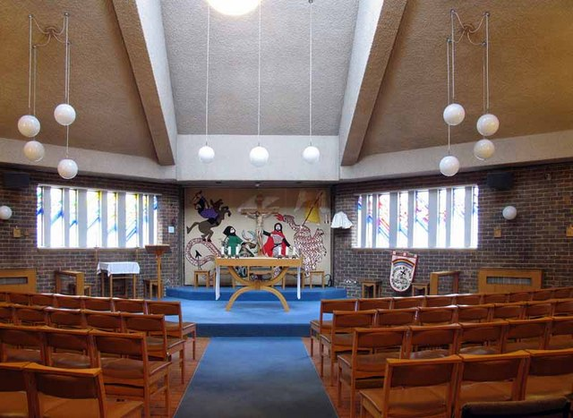 St Peter & St Paul, Church Road, Teddington, Mx TW11 8PS - East end