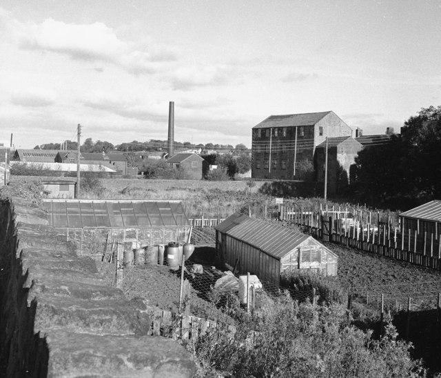 Site of former mill dam, Barnoldswick