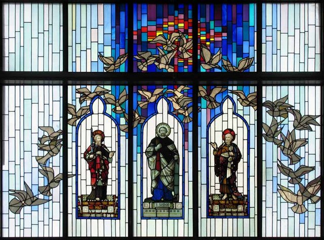St Peter & St Paul, Church Road, Teddington, Mx TW11 8PS - Window