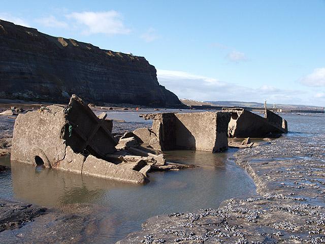 Wreck of the MV Creteblock