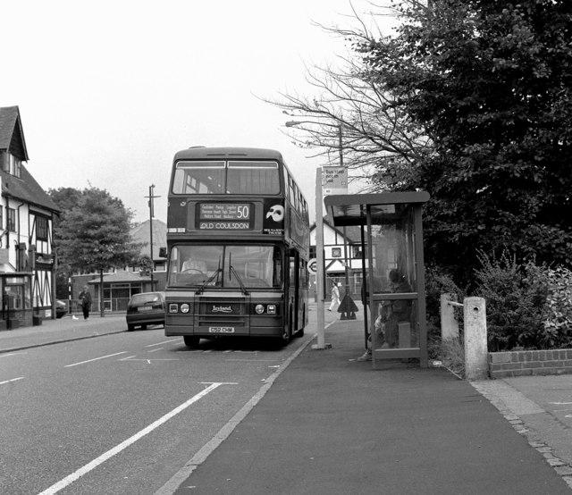 Old Coulsdon (Tudor Rose) bus terminus