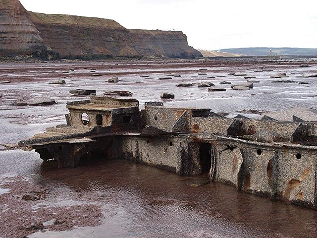 Another piece of shipwreck debris, Saltwick Nab