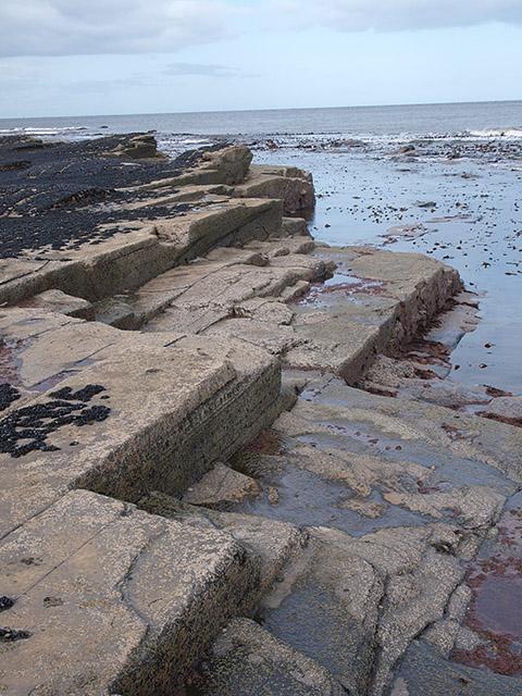 Reefs below Saltwick Nab