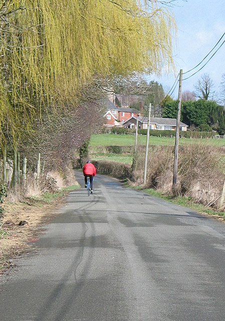 Cycling into Woolhope