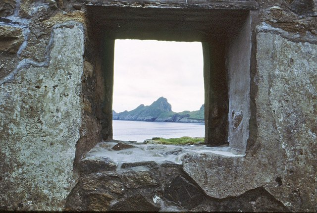 A St Kildan's view from his cabin window