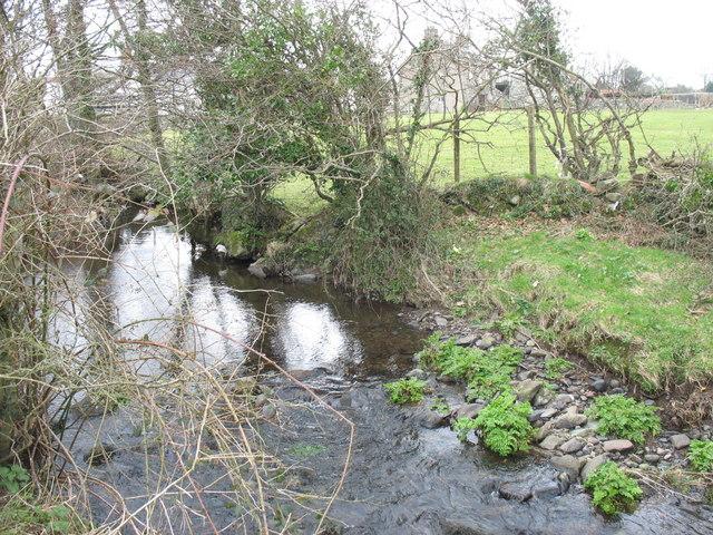 Afon Carrog below Pont Dolydd