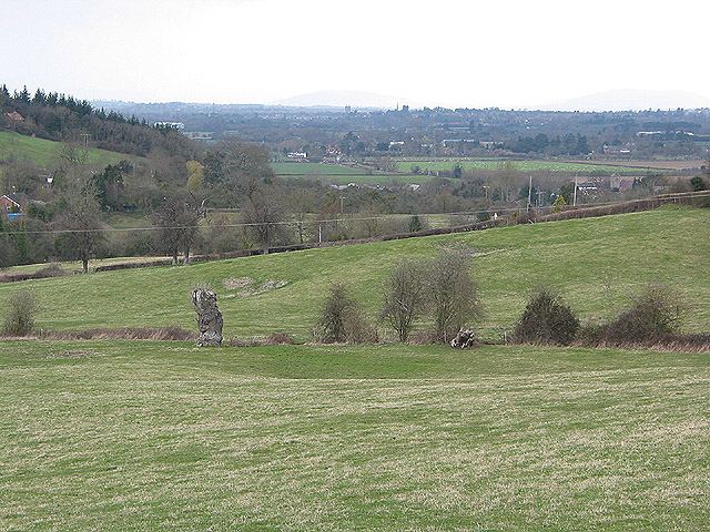 View towards Hereford