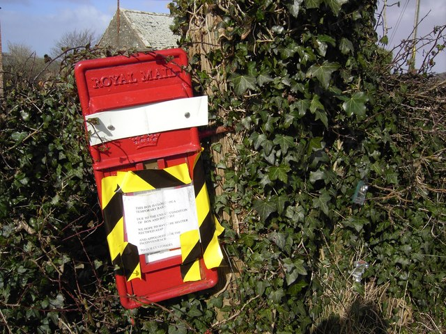 Danger-Postbox