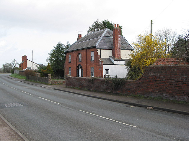 Solid-looking house at Bartestree
