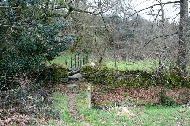 Footbridge on Saint's Way