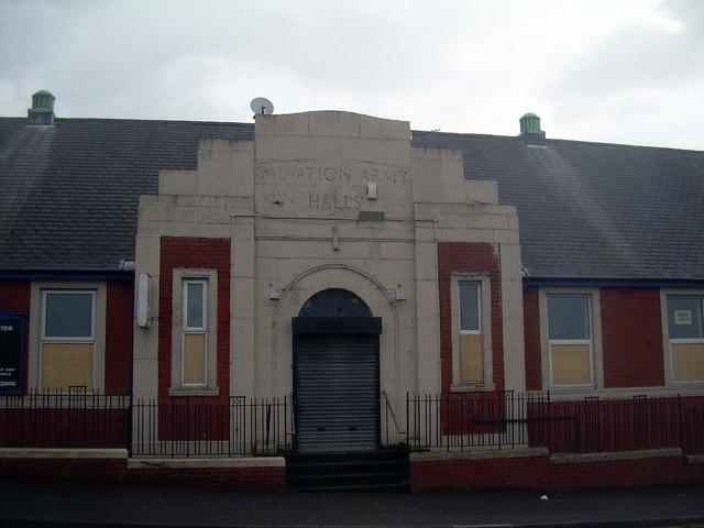 Salvation Army Halls