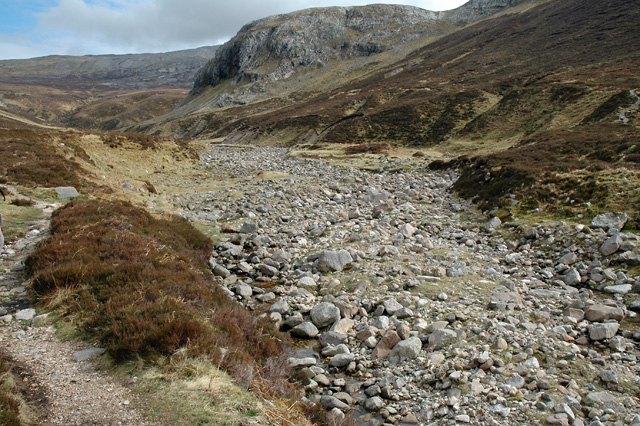Dry River Bed of the Allt nan Uamh