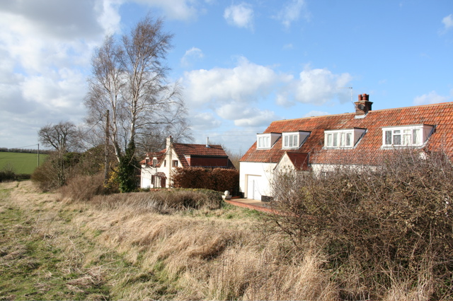 Houses by the Clunch Pit
