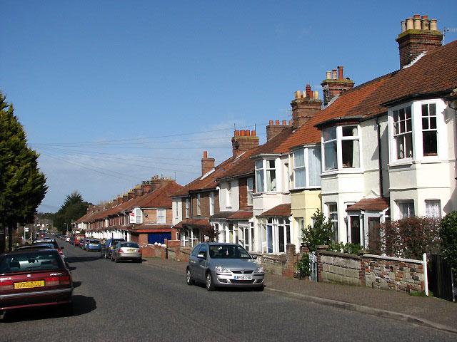 View NE along Mill Street