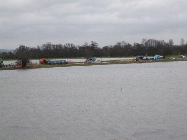 Boats on River Derwent