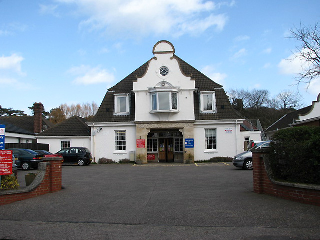 Entrance to the Cromer & District Hospital