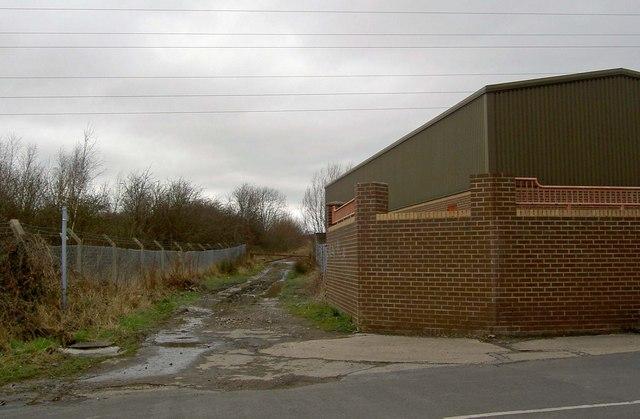 Footpath at Darton