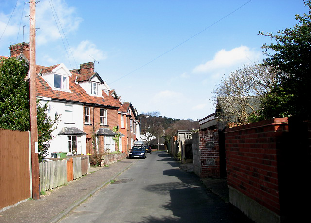 Terraced houses on York Road