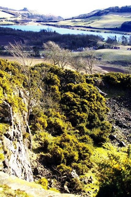 Quarry near Lindores
